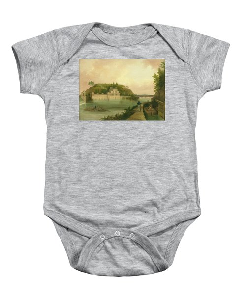 Fairmount Waterworks About 1838 Baby Onesie