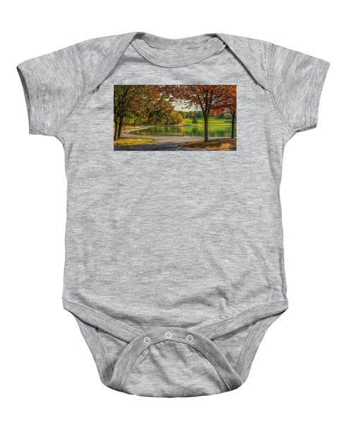 Fall In Montreal Baby Onesie