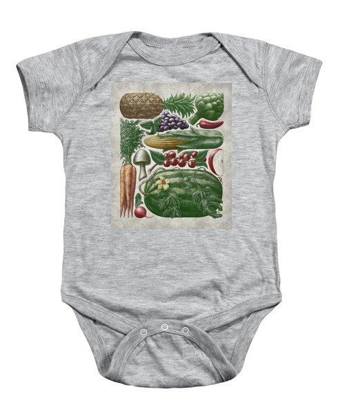 Farmer's Market - Color Baby Onesie