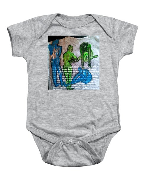 Fear Of The Inexplicable Baby Onesie