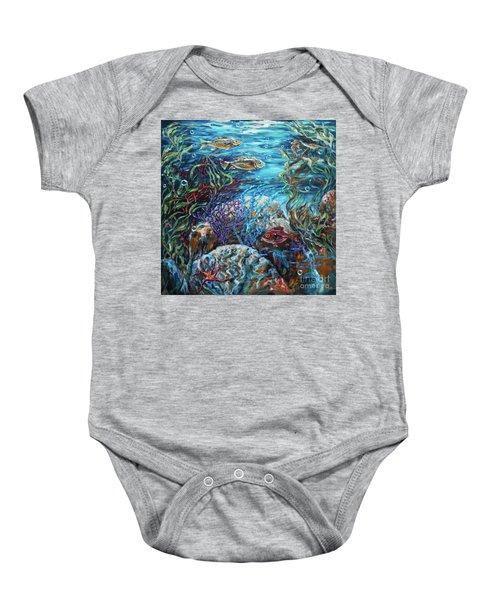 Festive Reef Baby Onesie