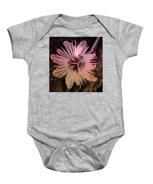 Flower With Tentacles Baby Onesie