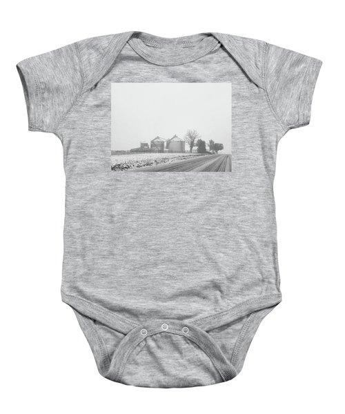 Foggy Farm Baby Onesie