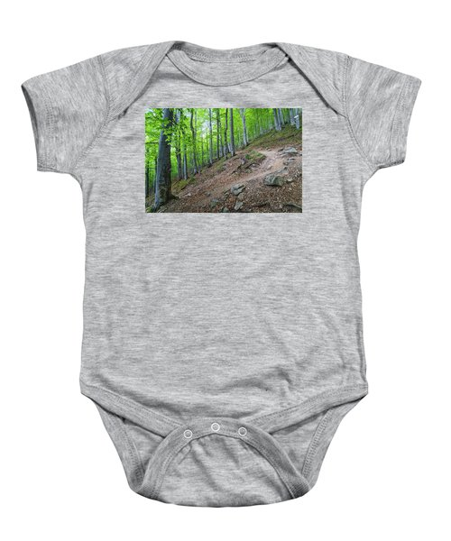 Forest On Balkan Mountain, Bulgaria Baby Onesie