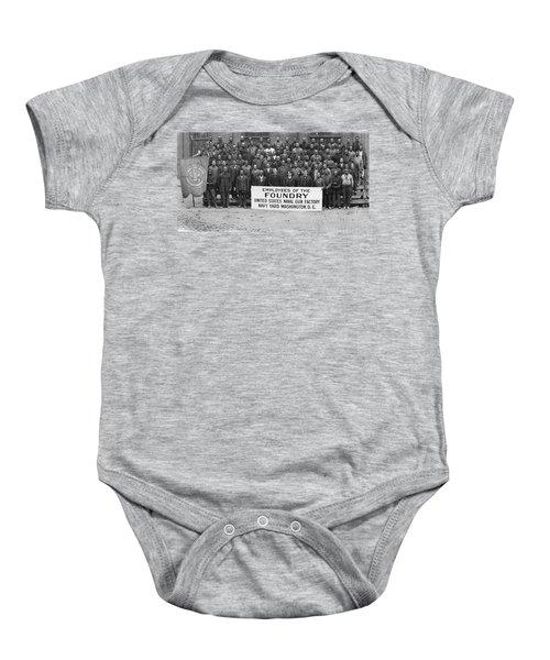 Foundry Employees Navy Yard Baby Onesie