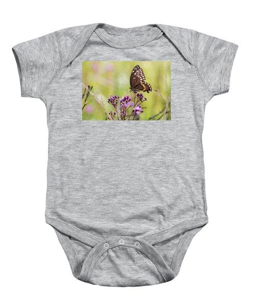 Fragile Wings Baby Onesie