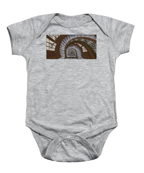 Frank Lloyd Wright - The Rookery Baby Onesie
