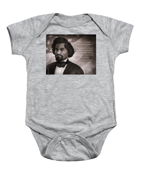 Frederick Douglass As A Young Man Baby Onesie