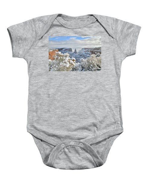 Fresh Snow At Independence Canyon Baby Onesie