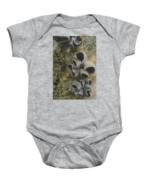 Fungi And Algae Baby Onesie