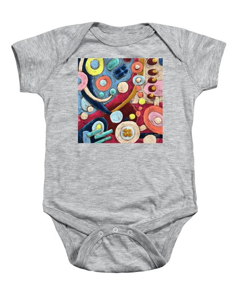 Geometric Abstract 2 Baby Onesie