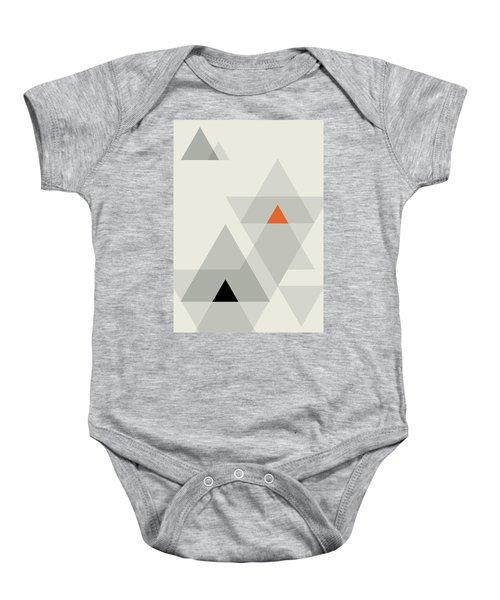 Geometric Painting 15 Baby Onesie