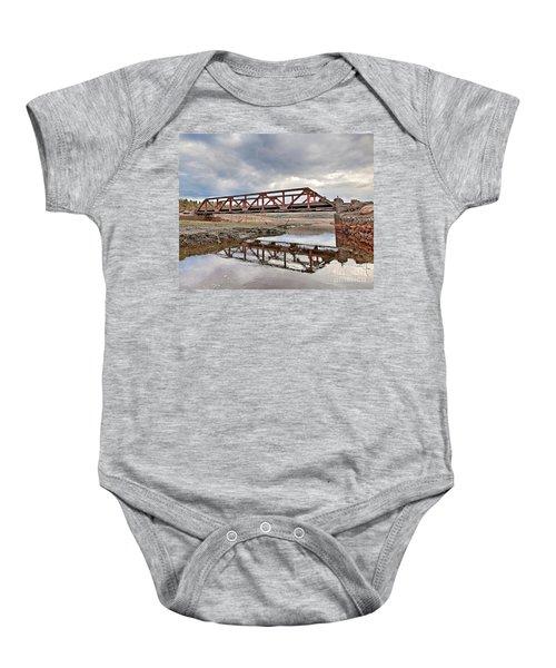 Ghost Bridge - Colebrook Reservoir Baby Onesie