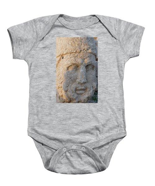 Giant Head Of Heracles,  Tumulus Baby Onesie