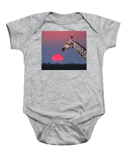 Giraffe Composite Baby Onesie