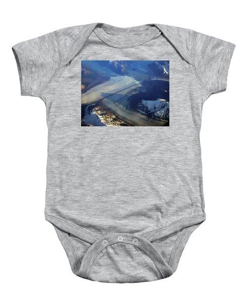 Glaciers Converge Baby Onesie