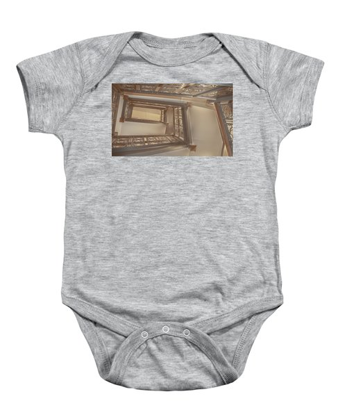 Going Up...evens Hall Carleton College Baby Onesie