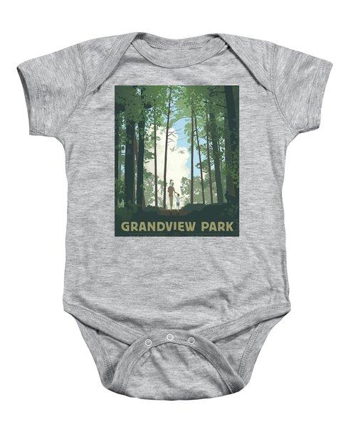 Grandview Park Baby Onesie