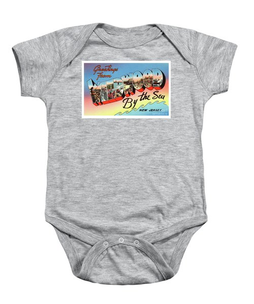 Wildwood Greetings - Version 2 Baby Onesie