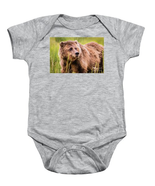 Grizzly In Lake Clark National Park, Alaska Baby Onesie