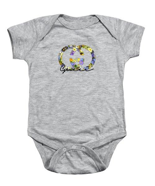 Gucci Floral Series Baby Onesie