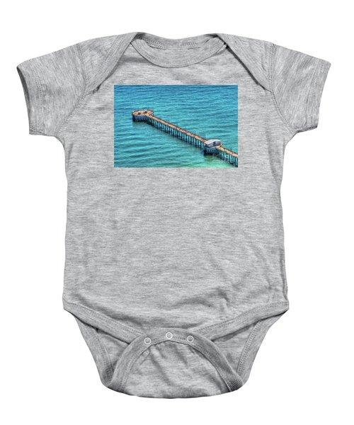 Gulf State Park Pier Baby Onesie