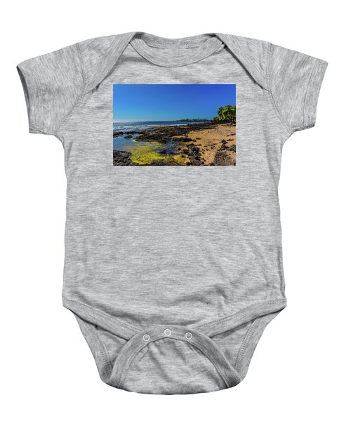 Baby Onesie featuring the photograph Hale Halawai Tide Pool by John Bauer