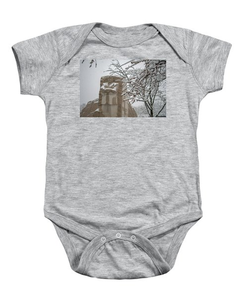Happy Holidays At The King Memorial Baby Onesie
