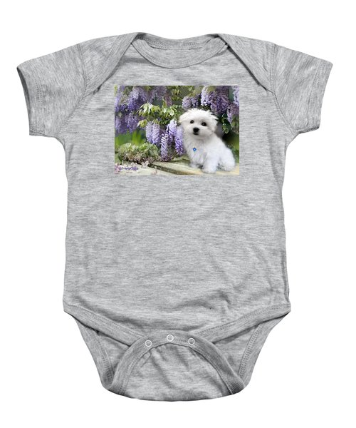 Hermes And Wisteria Baby Onesie