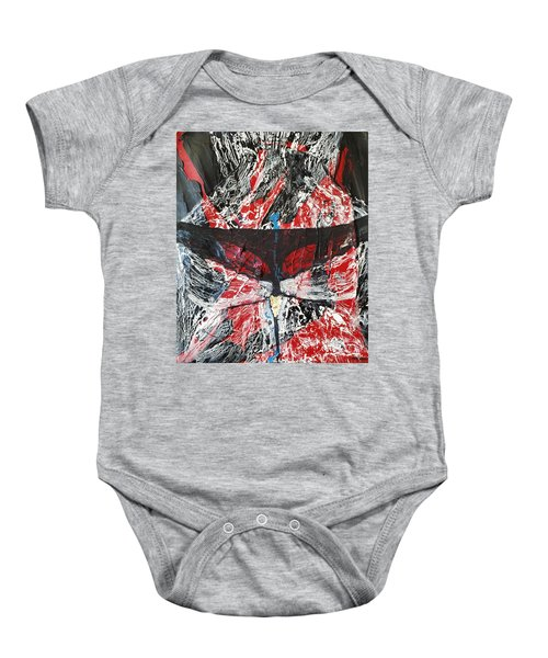 His Fiery Darkness Is Free Baby Onesie