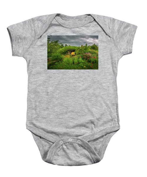 Hobbit Garden In Bloom Baby Onesie