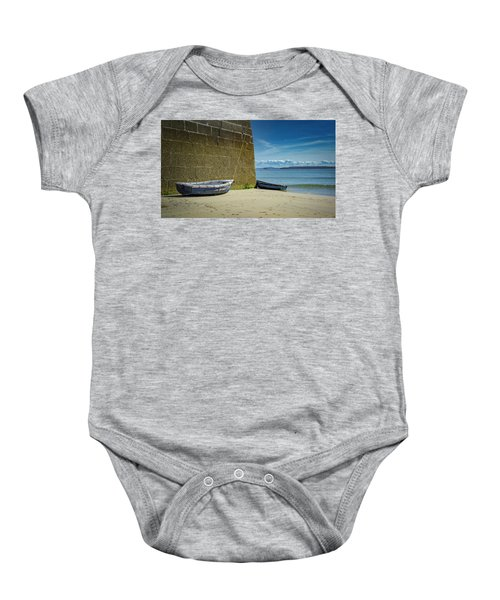 Holidays In St Ives Cornwall Baby Onesie