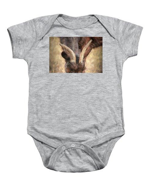 Horns Baby Onesie