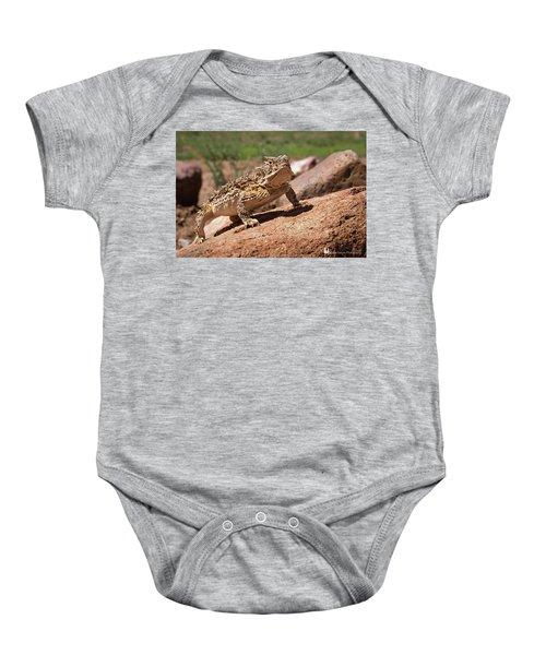 Horny Toad Baby Onesie