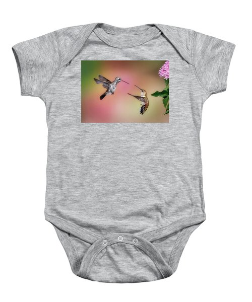 Hummingbird Battle Baby Onesie