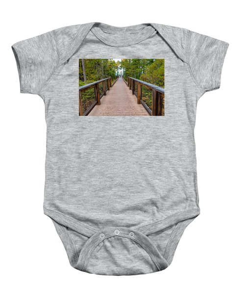 Hunter's Point At Copper Harbor Baby Onesie