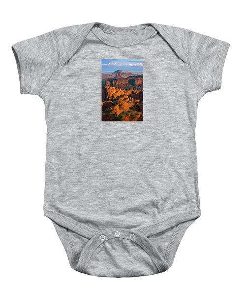 Hunts Mesa Sunrise Baby Onesie