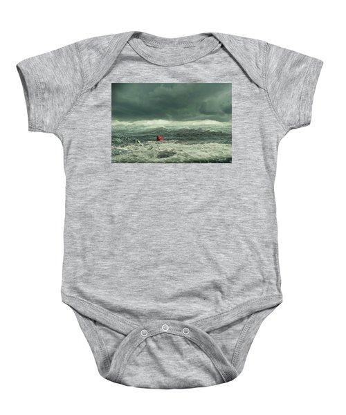 Hurricane Florence 2018 Baby Onesie