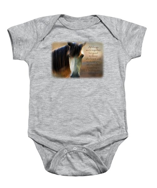 If Horses Could Talk - Verse Baby Onesie