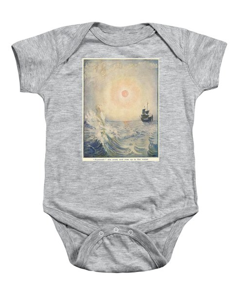 The Little Mermaid, Illustration From  Baby Onesie