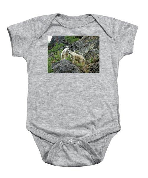 Idaho Mountain Goats Baby Onesie