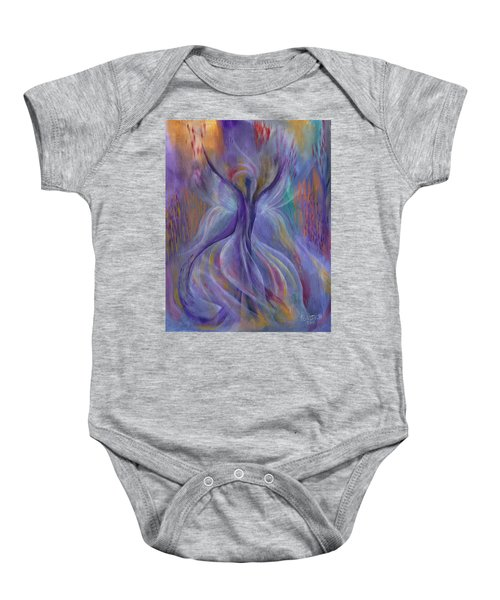 In Search Of Grace Baby Onesie