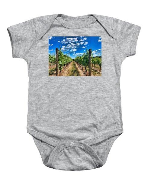 In The Vineyard Baby Onesie