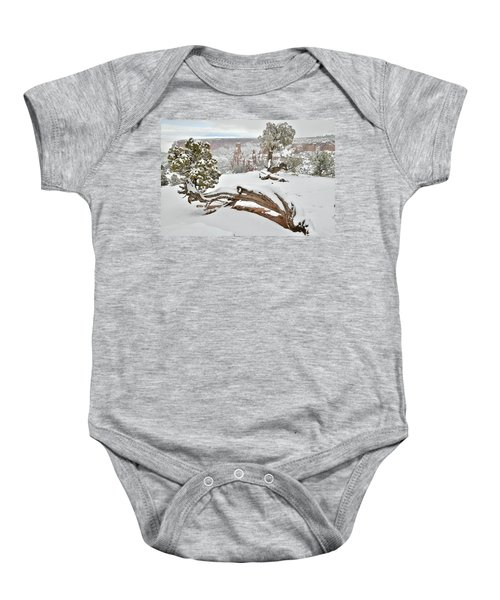 Independence Canyon Of Colorado National Monument Baby Onesie