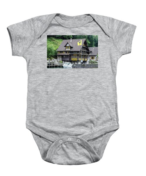 Inn On Lake Lucerne Baby Onesie