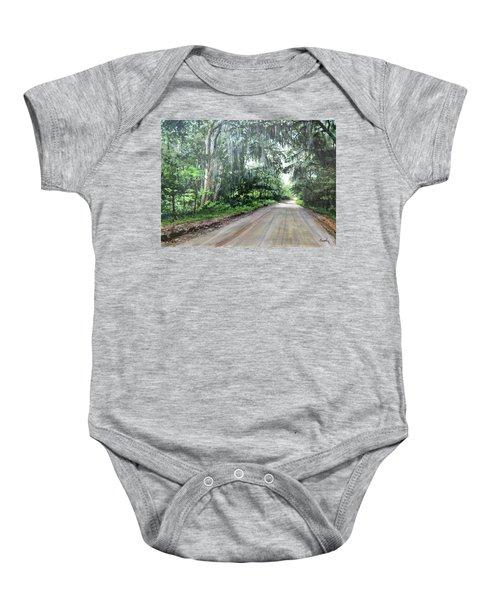 Island Road Baby Onesie