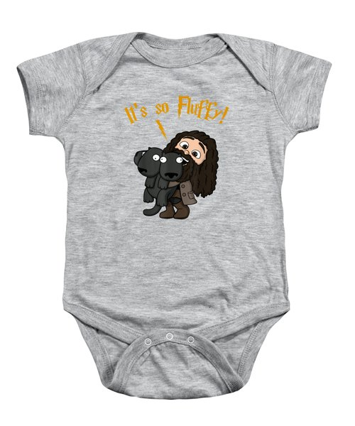 It's So Fluffy Funny Harry Magical Wizard Potter Shirt Gift Baby Onesie