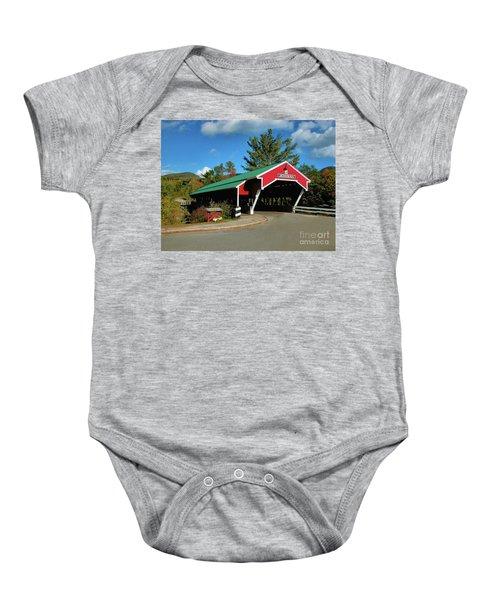 Jackson Covered Bridge Baby Onesie