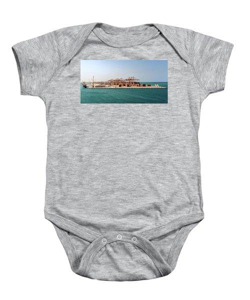 Jeddah Seaport Baby Onesie