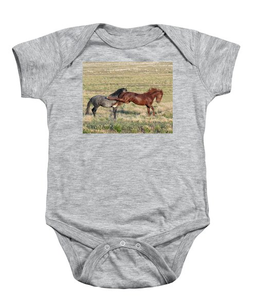 Baby Onesie featuring the photograph Kapow by Mary Hone